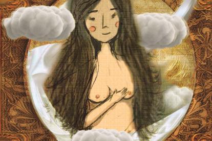Ilustración de Remedios la bella.