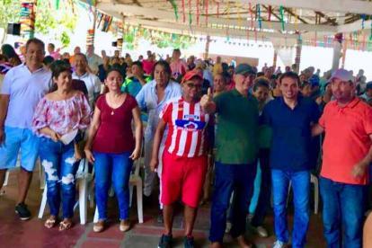 Varela con Manotas.