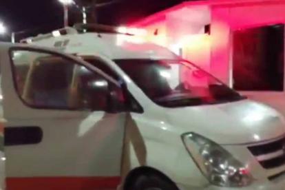 Por 35 minutos estuvo retenida la ambulancia en el peaje de Rincón Hondo, en el departamento del Cesar.
