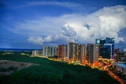 Norte de Barranquilla, sector de la 51B.