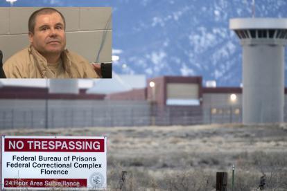 Prisión ADX Colorado donde el Chapo Guzmán pagará su sentencia.