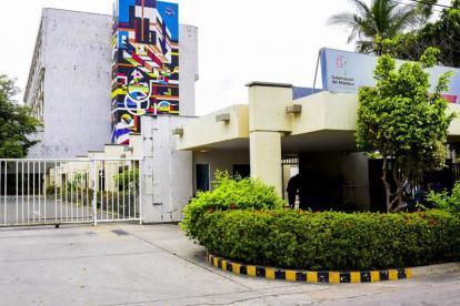 Fachada del Hospital Universitario Cari E.S.E.