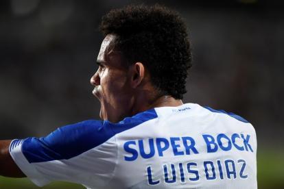 Luis Díaz conquistó el gol en la tercera fase de la eliminatoria de la Liga de Campeones.