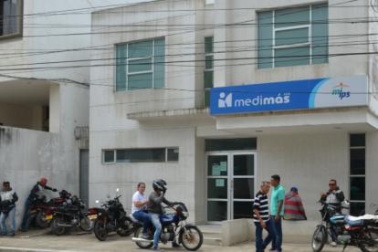 Esta es la sede de Medimás en Sincelejo.