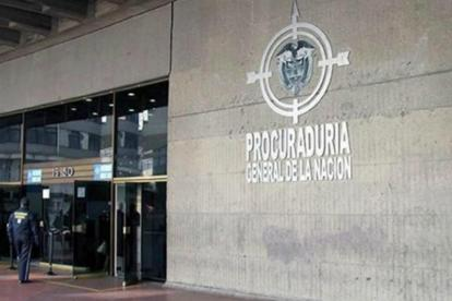 Fachada de la Procuraduría General de la Nación.