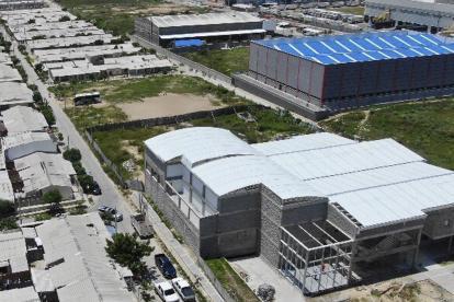 Sede del Sena que se construye en Galapa.