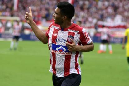 Teófilo Gutiérrez, jugador del Junior.