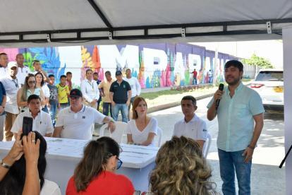 """Resultado de imagen de Barranquilla sigue imparable entregando nuevos parques a la comunidad: alcalde Jaime Pumarejo"""""""