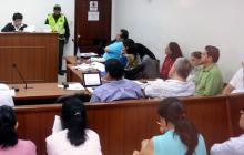 Las audiencias se prolongaron hasta altas horas de la noche, en Barranquilla.