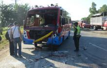 15 heridos por accidente de tránsito