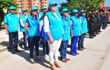 Funcionarios de la Alcaldía, la Red de Apoyo y Bomberos apoyarán a la Policía en el Plan de Navidad y Fin de Año.