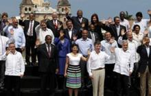 Presidentes de la región.