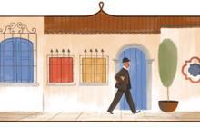 Google dedica su 'doodle' al escritor Tomás Carrasquilla