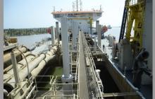Dragarán 800 mil m3 de sedimentos en canal de acceso