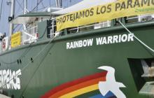 Greenpeace llega a Colombia