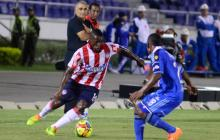 Édinson Toloza, el jugador de la discordia, ingresó en el segundo tiempo y produjo algunas escaramuzas, pero después se diluyó como todo el equipo.