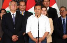El presidente Ollanta Humala pidió al Congreso que aclare a la mayor brevedad si respalda o no a su gabinete.