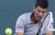 Djokovic, primer semifinalista del Masters 1.000 de Miami, tras eliminar a Murray