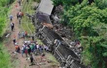Número de muertos por descarrilamiento de tren en el Congo podría llegar a 200