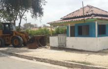 Santos ordena a la Policía de Barranquilla demoler segunda