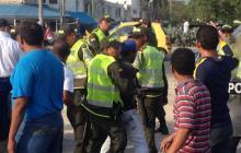 En Cartagena, 7 horas de bloqueos por paro parcial de transportadores