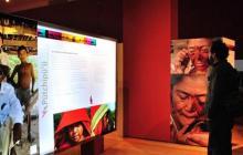 Los visitantes podrán ver las diferentes fotografías pertenecientes a la muestra de esta cultura originaria de la Guajira.