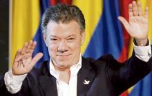 """""""Es el momento de la paz"""": Juan Manuel Santos"""
