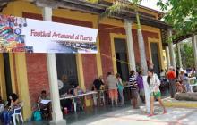 Feria artesanal y culinaria en Puerto Colombia
