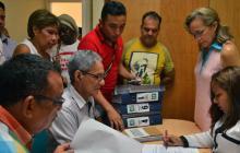 Ante la Registraduría de Sincelejo se inscribió el comité promotor de la revocatoria.