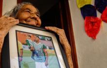 Abuela de Álex Mejía no verá hoy el partido