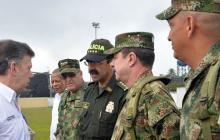 Presidente Santos destaca reducción de los índices delincuenciales en el país