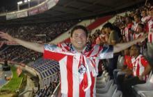 Pedro Cantero, un hincha juniorista en Barrancabermeja