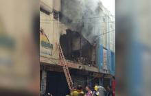 Incendio en local comercial de Maicao deja pérdidas millonarias