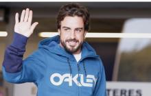 Alonso ya se encuentra en casa