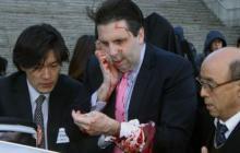 El embajador Mark Lippert fue agredido por un radical.
