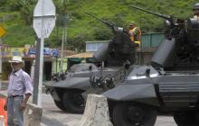 El Ejército y la Policía han reforzado la seguridad en algunas zonas del Cauca.