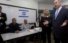 Jornada electoral en Israel transcurre con participación del 13,7%