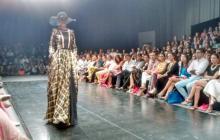 El diseñador colombiano Jorge Duque se robó los aplausos en Ixel Moda.