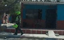 Hieren a hombre en el barrio Villa San Carlos