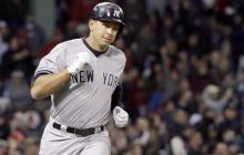 Álex Rodríguez, cuarto beisbolista con más jonrones en la MLB