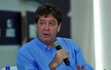 El presidente de la Andi, Bruce Mac Master, ayer, durante su intervención en el 5º Foro de Graneles y Logística.