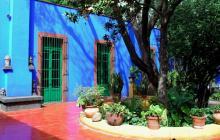 La Casa Azul de Frida Kahlo aterriza en el Jardín Botánico de Nueva York