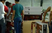 Las ventas de electrodomésticos jalonaron parte del crecimiento del comercio minorista en el país.