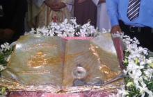 Llega reliquia del Santo Juan Pablo II a Colombia