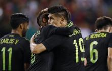 México inicia su participación en Copa Oro goleando 6 a 0 a Cuba