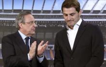 """El presidente del Real Madrid, Florentino Pérez, explicó este lunes que """"nadie le ha pedido a Iker Casillas que deje el club"""" y que el traspaso del guardameta español al Oporto portugués responde a su """"deseo"""" de emprender una nueva etapa deportiva."""
