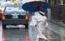 Dos muertos y 39 heridos en Japón a causa del tifón Nangka