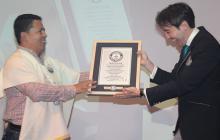 Colombia entra al Guinness Récords al lograr la mayor cata de aguardiente