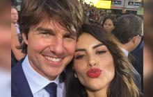 Tom Cruise, ¿flechado por Jéssica Cediel?