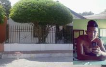Julio de Jesús Durán Acosta murió al saltar la reja de su casa.